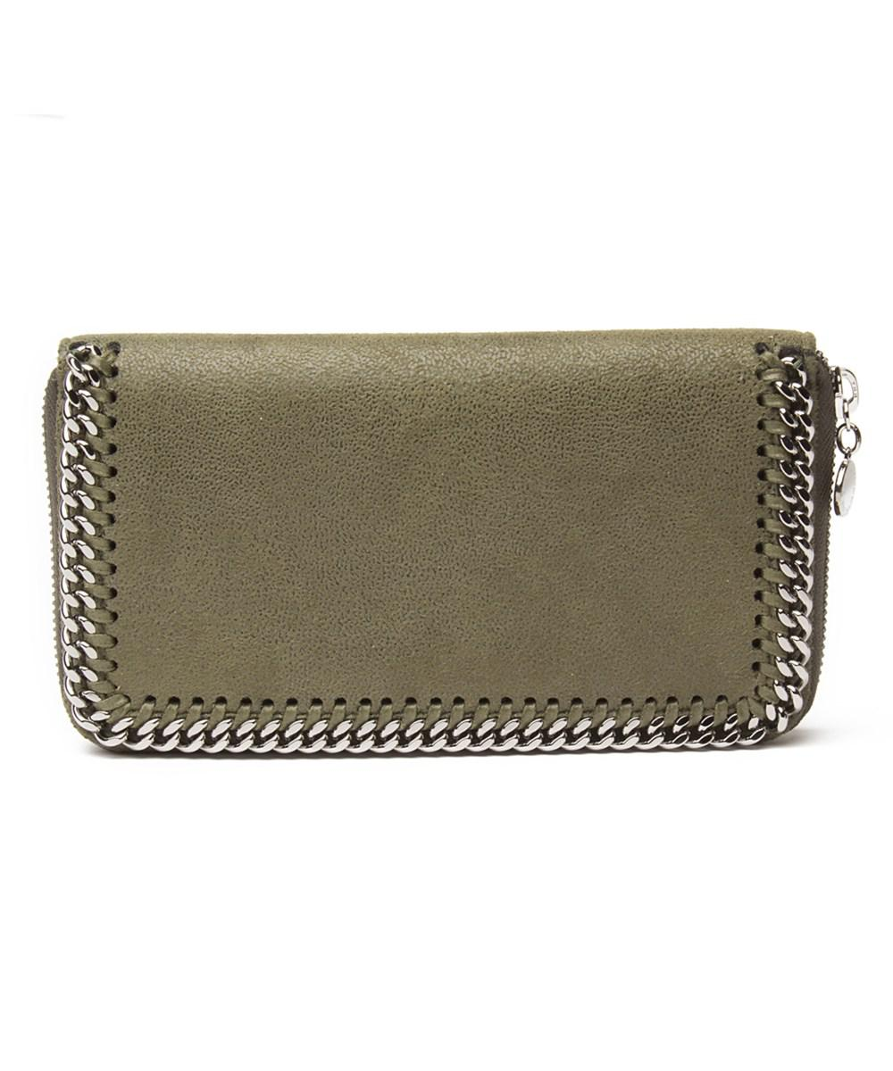 Continental Falabella Flap Wallet in Light Grey Eco Leather Stella McCartney uj9JZT
