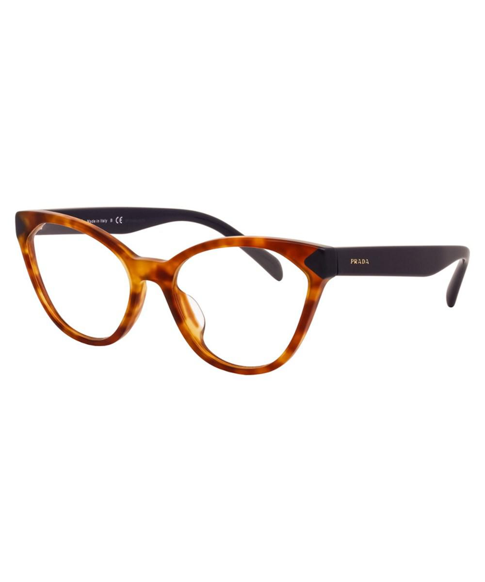 17435f148d Lyst - Prada Women s Pr 02tvf 54mm Optical Frames in Brown