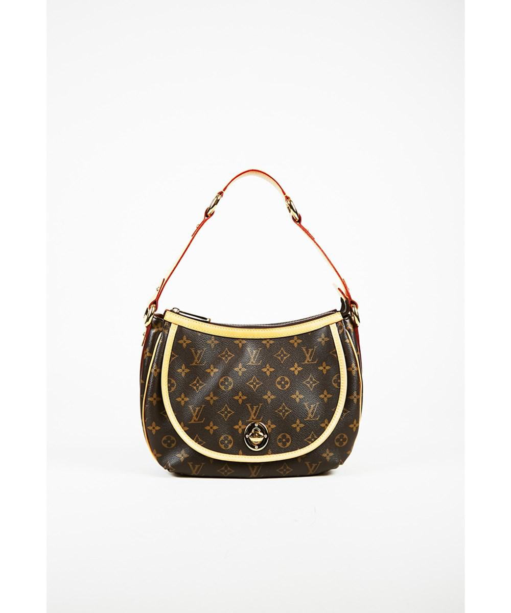 9e639cf190a2 Louis Vuitton. Women s 1 Brown Monogram Canvas   Leather