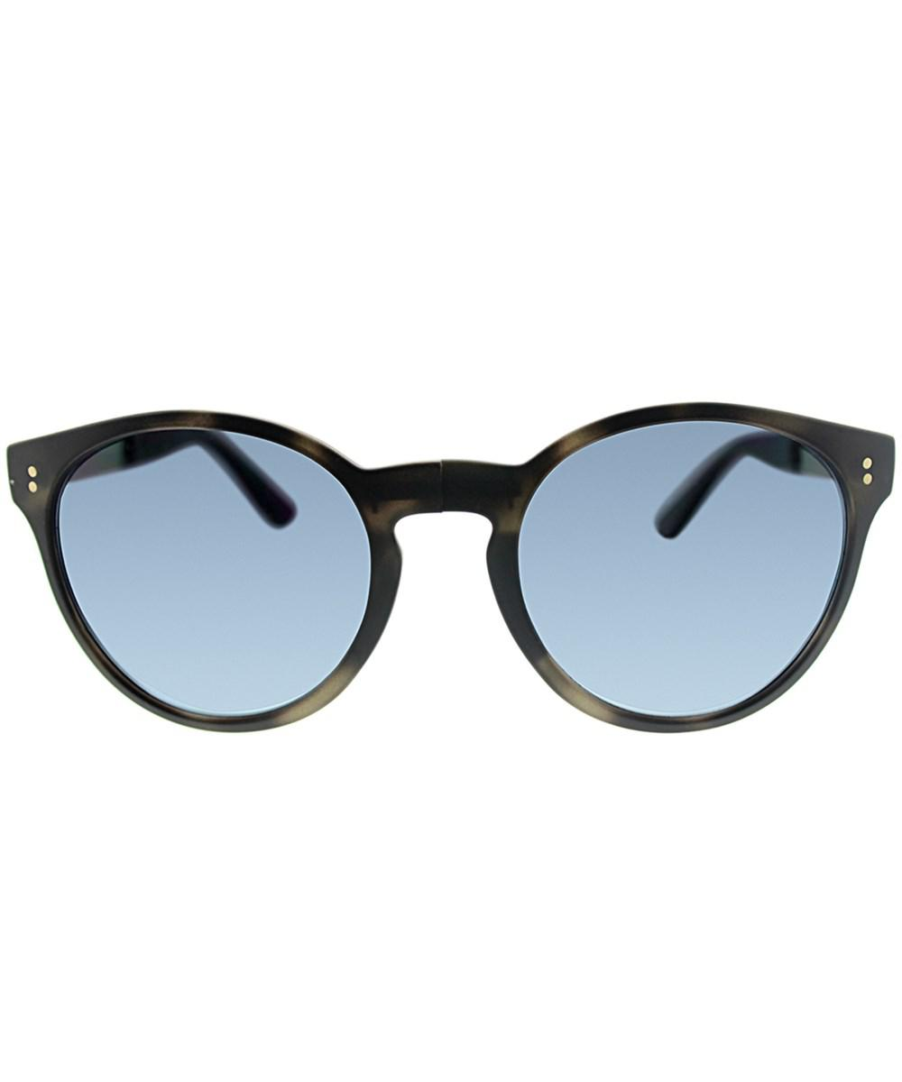 79ec0f8306 Burberry Foldable Be 4221 3596k4 55 Matte Grey Havana Round Sunglasses in  Gray - Lyst