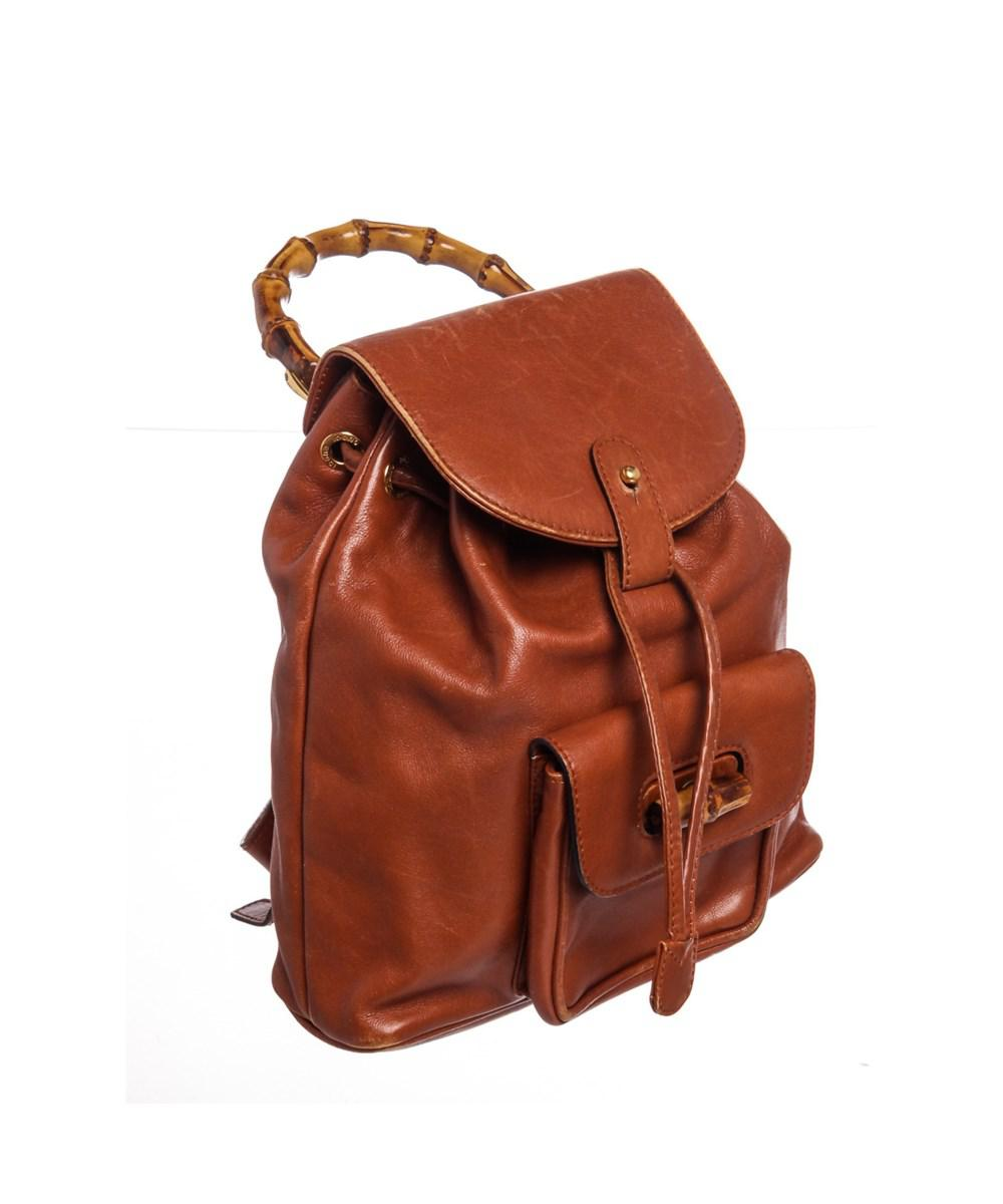 1dd6dc065a3f Vintage Gucci Leather Backpack- Fenix Toulouse Handball