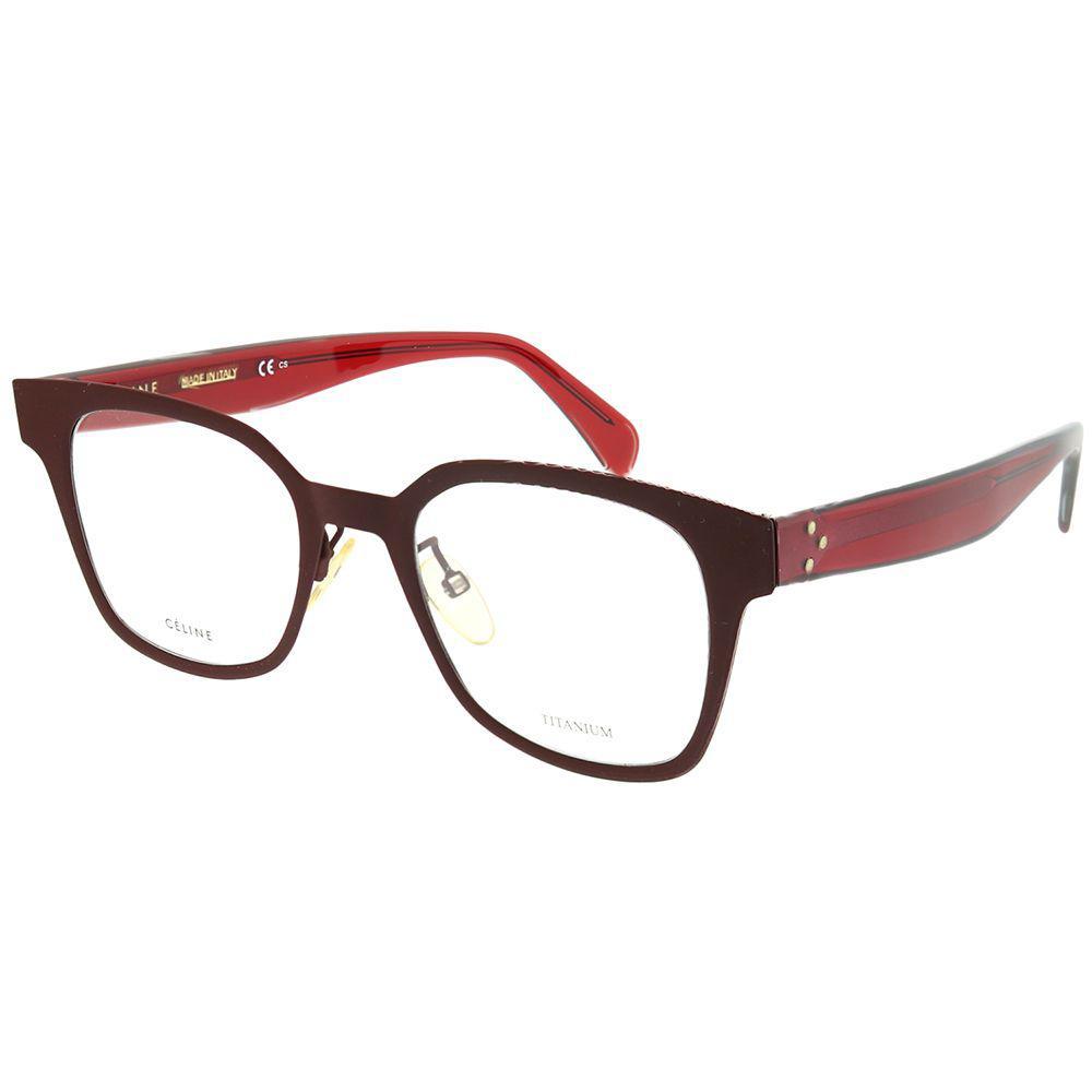11601561b778 Céline. Women s Cl 41456 Lhf Ople Burg Square Eyeglasses