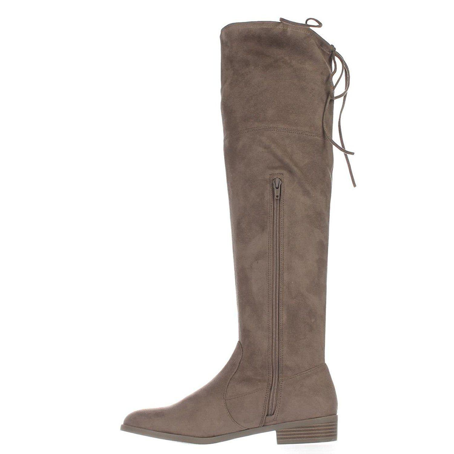 56c6514b15a INC International Concepts. Brown Womens Imannie Closed Toe Over Knee  Fashion Boots