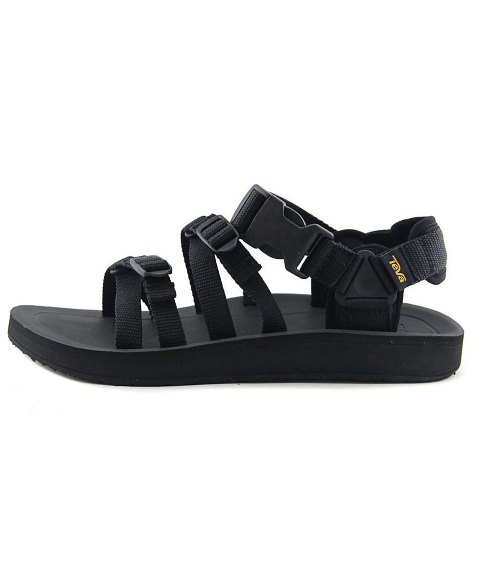 829cdfca0 Lyst - Teva M Alp Premier Men Open-toe Synthetic Black Sport Sandal ...
