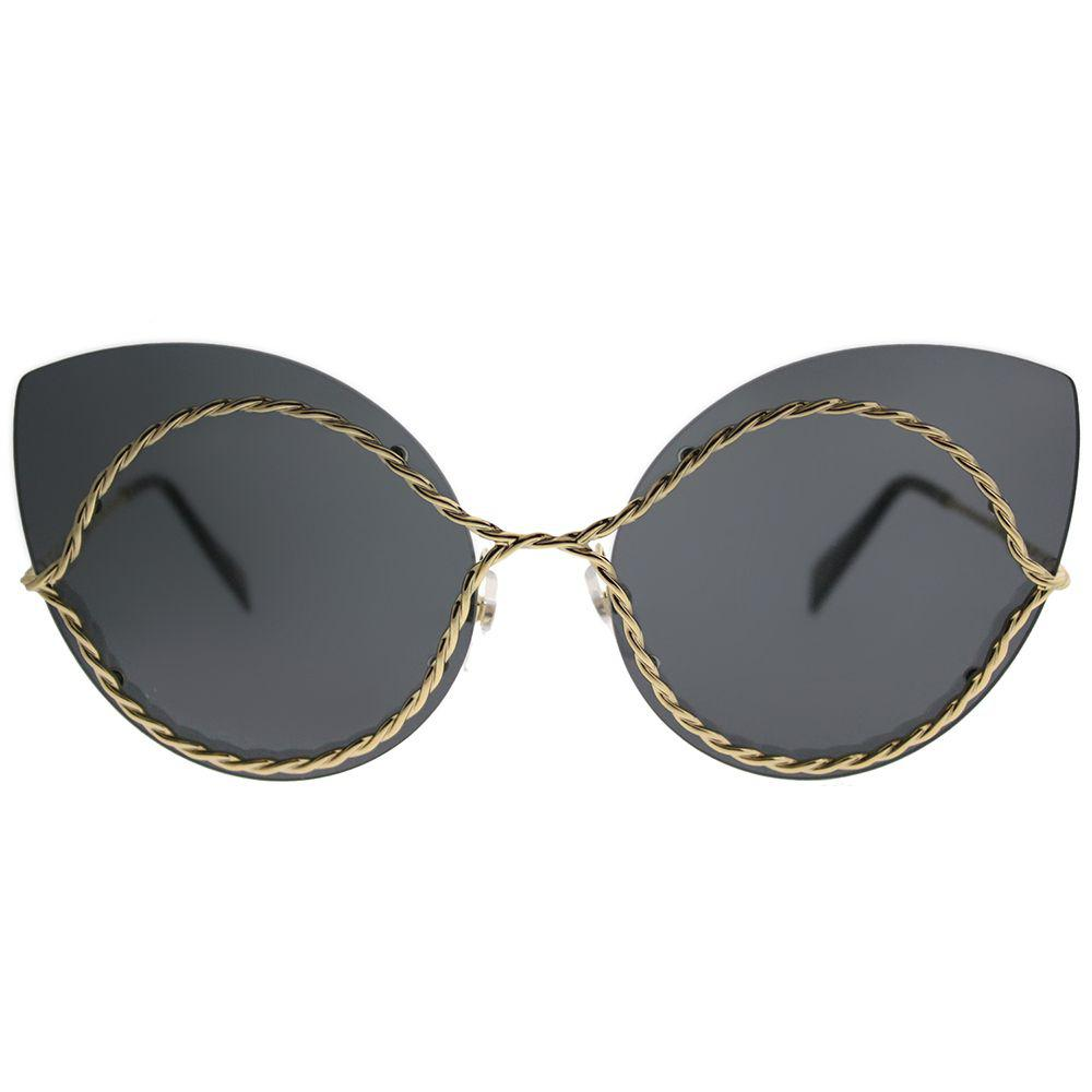 Lyst - Marc Jacobs Marc 161 J5g Gold Cat-eye Sunglasses in Metallic 16ce1a9ad054