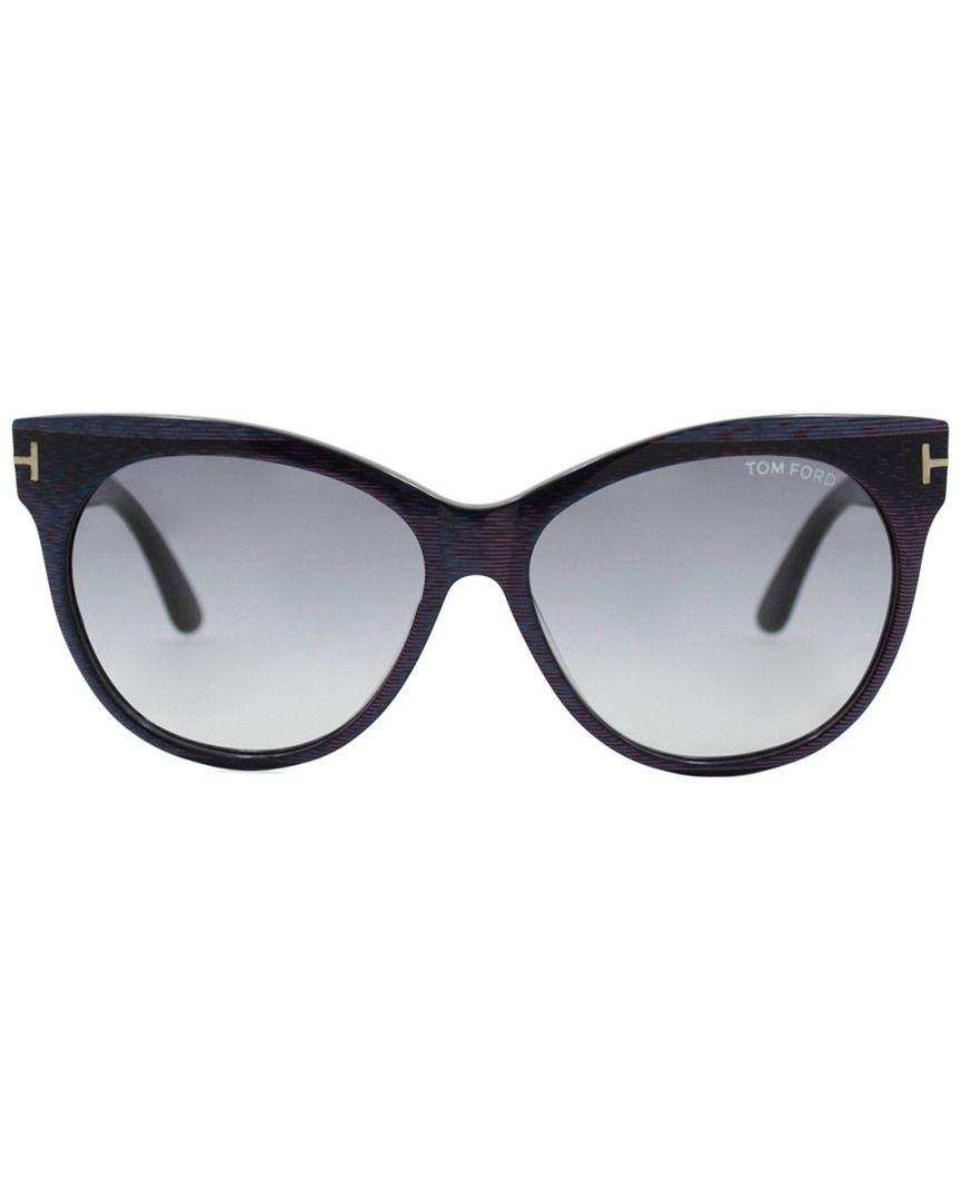 6524b394e8f0 Lyst - Tom Ford Saskia 57mm Sunglasses - Save 17.5%