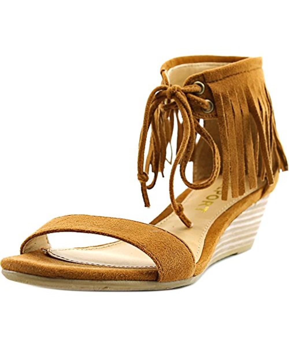 c7fc15357cf5 Lyst - Report Women s Mazama Wedge Sandal in Brown