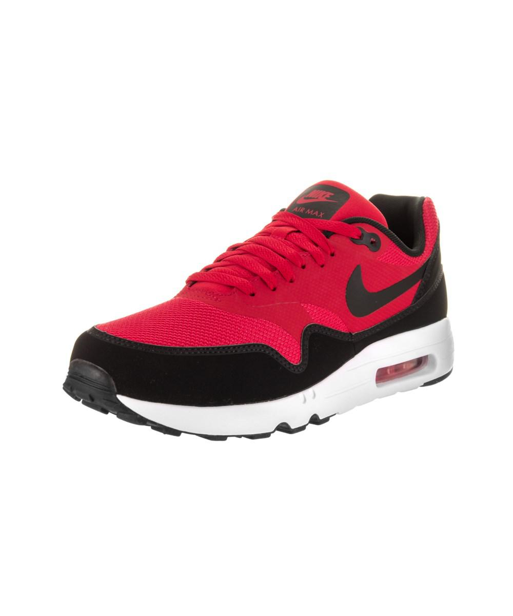 pretty nice 9804d 38f40 Nike - Red Men s Air Max 1 Ultra 2.0 Essential Running Shoe for Men - Lyst. View  fullscreen