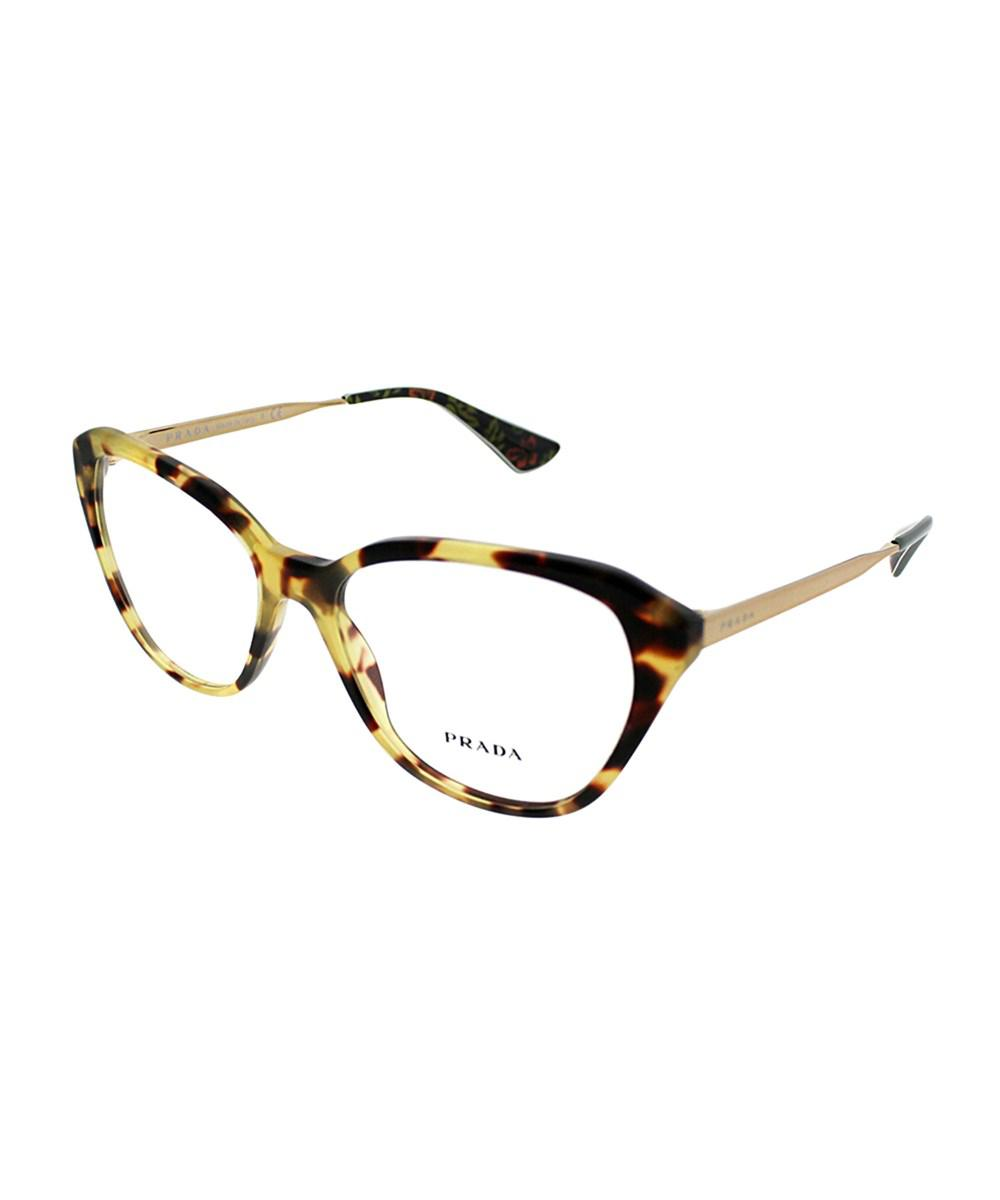 3ec19734eca Prada Cinema Pr28sv 7s01o1 54mm Medium Havana Cat-eye Eyeglasses in ...