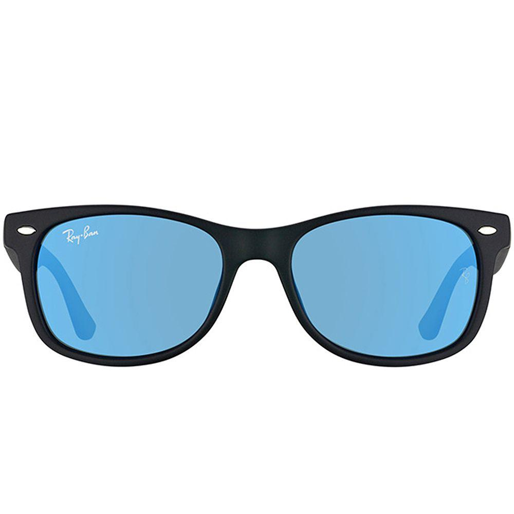 77c2d4cbe1 Lyst - Ray-Ban Rj 9052sf 100s55 50mm Matte Black Wayfarer Sunglasses ...