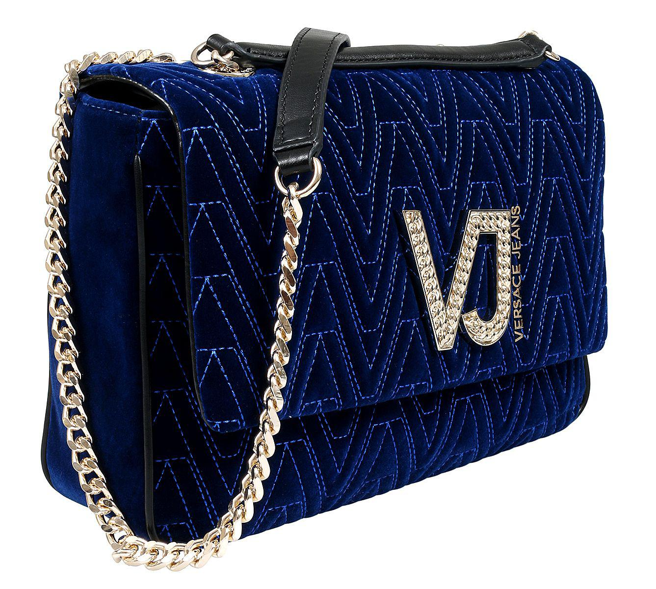 0d033234428d Versace - Ee1vsbbi5 E240 Prussian Blue Shoulder Bag - Lyst. View fullscreen