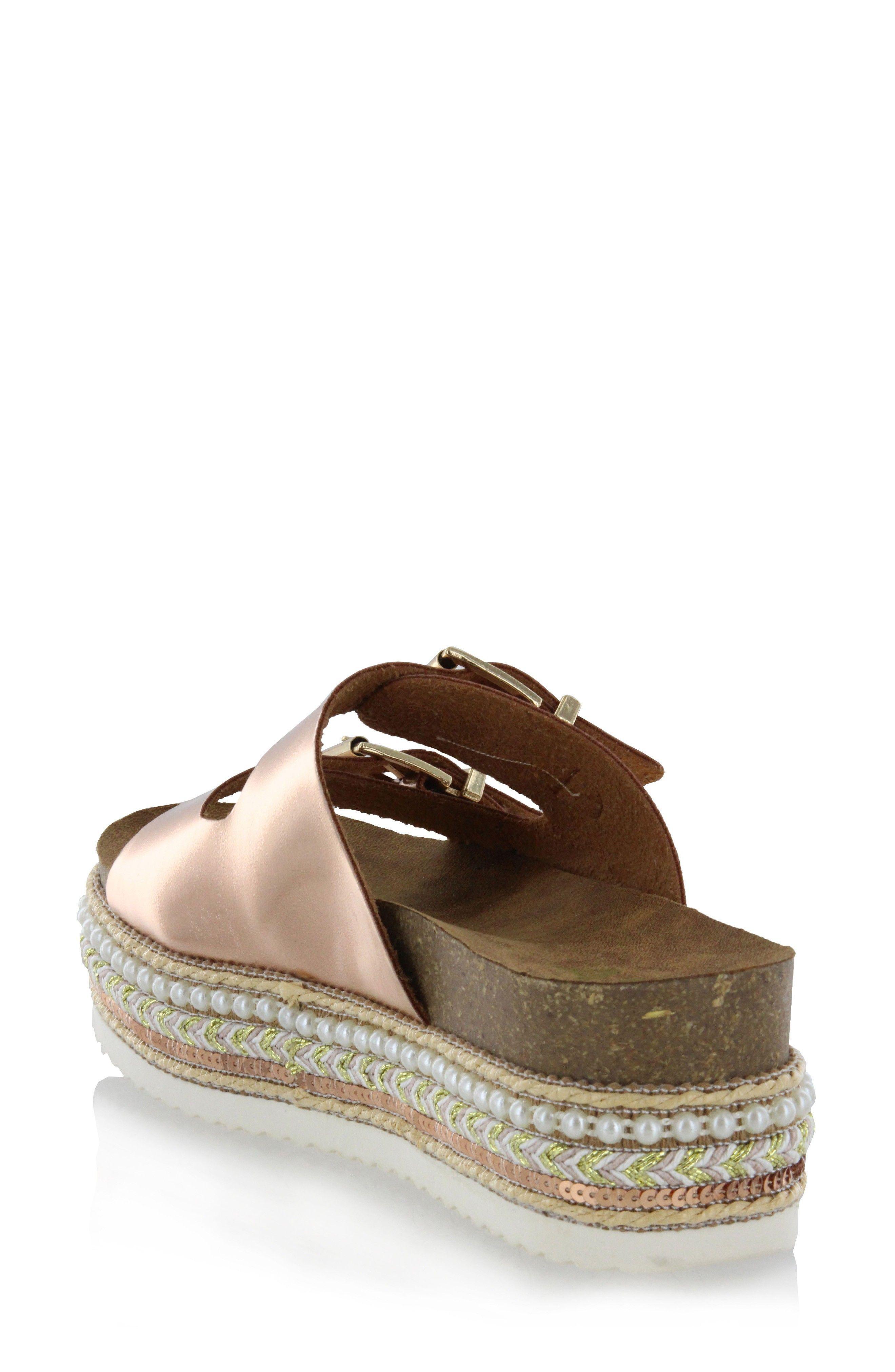 ad9b10fa372 Lyst - Mia Womens Topaz Open Toe Casual Platform Sandals