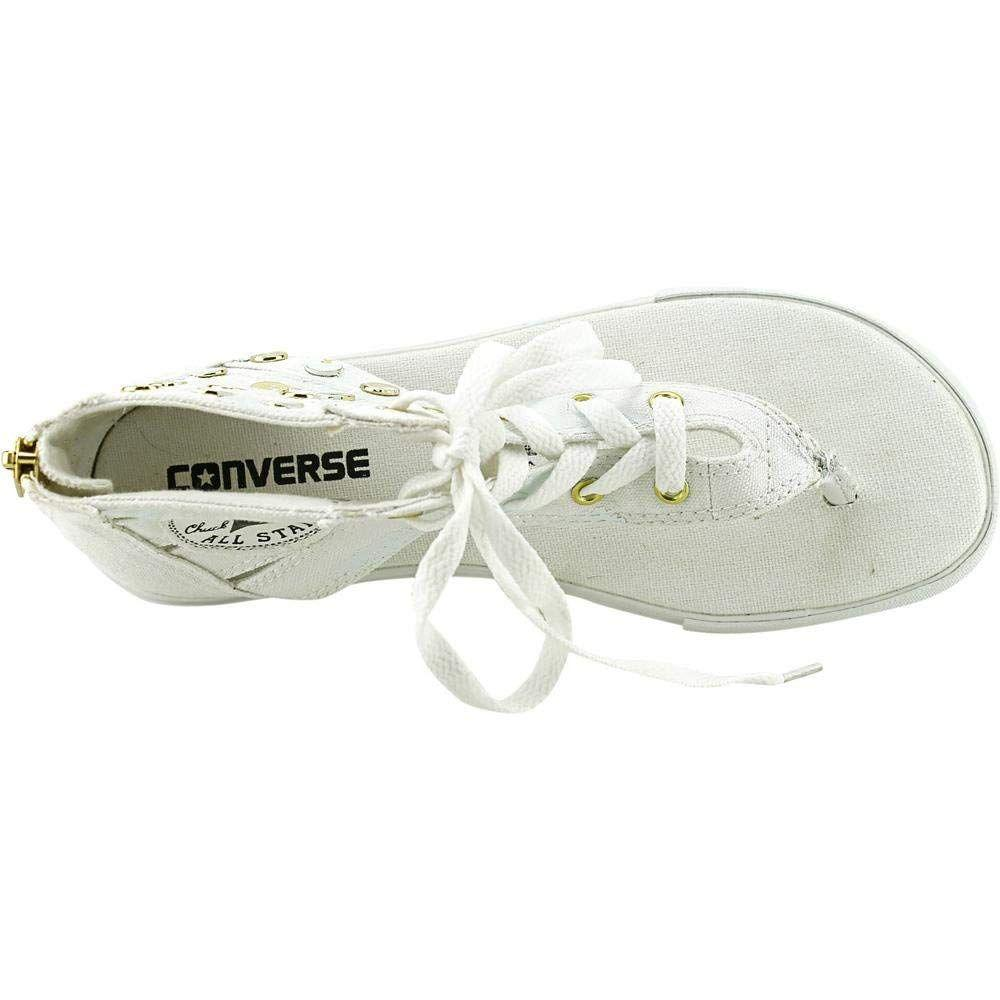 32653a0899c Lyst - Converse Women s Chuck Taylor Gladiator Hi Sandal in White