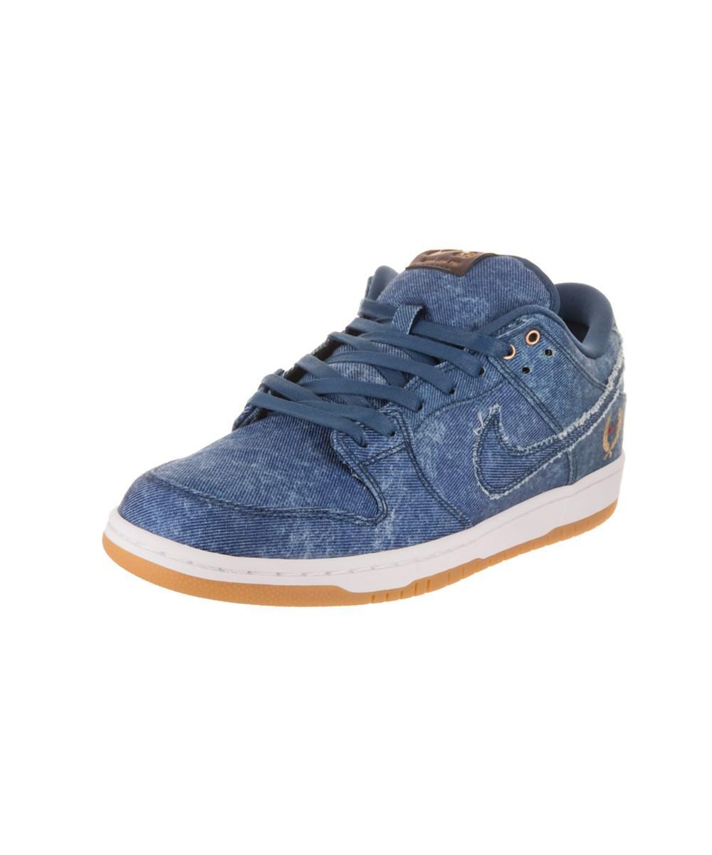 official photos 54fa6 15332 Lyst - Nike Men's Sb Dunk Low Trd Qs Skate Shoe in Blue for Men