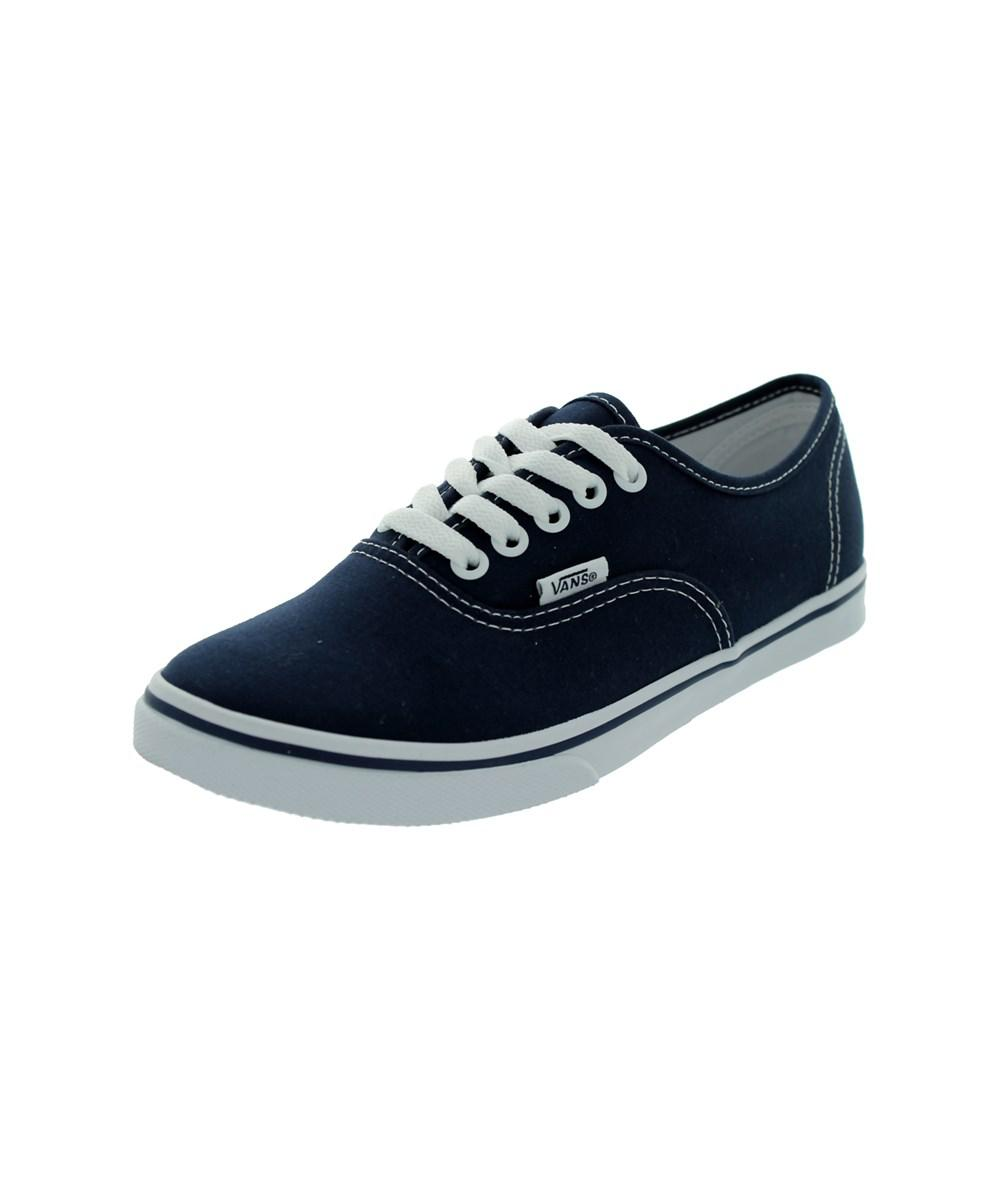 Vans - Blue Authentic Lo Pro Skate Shoes for Men - Lyst. View fullscreen da06a55d8