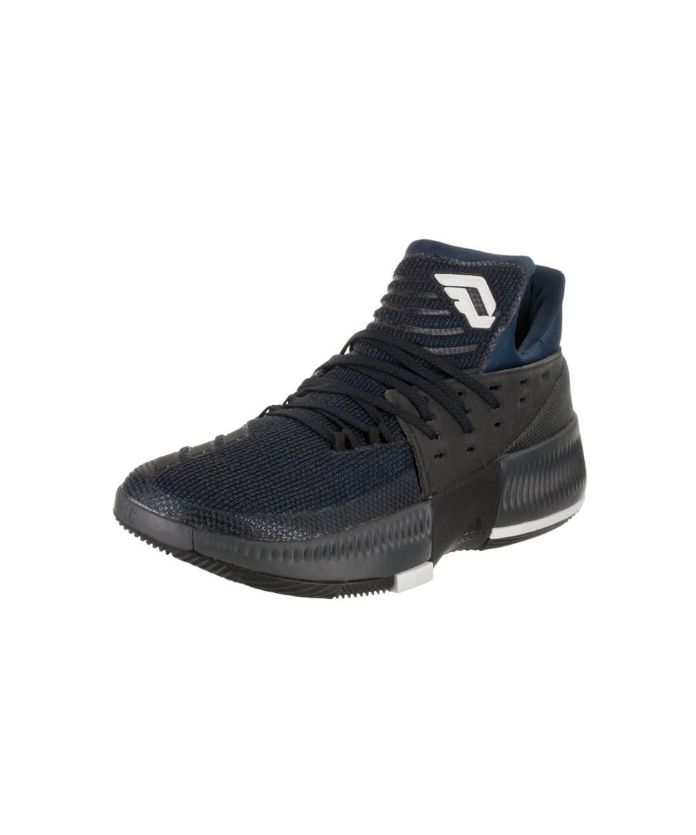 258f817c4253 Lyst - Adidas Men s D Lillard 3 Basketball Shoe in Blue for Men