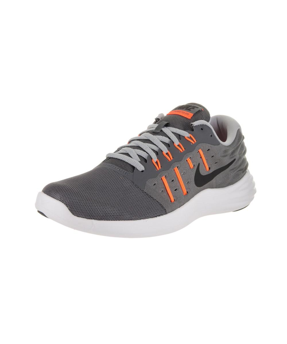 f5aa19682f1 Lyst - Nike Men s Lunarstelos Running Shoe in Gray for Men