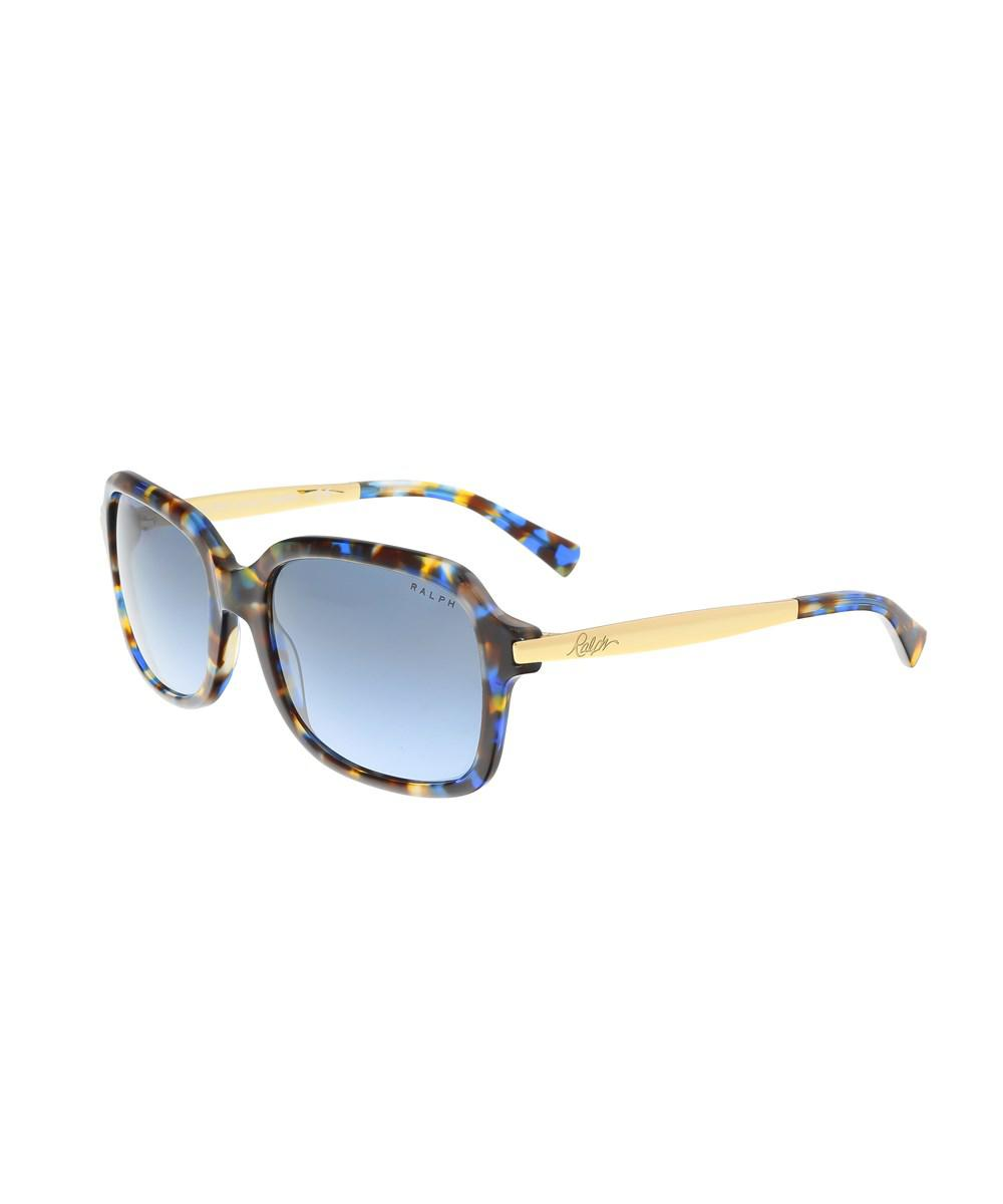 ac00a501a393 Lyst - Ralph Lauren Ra5202 145917 Multicolor Square Sunglasses in Blue