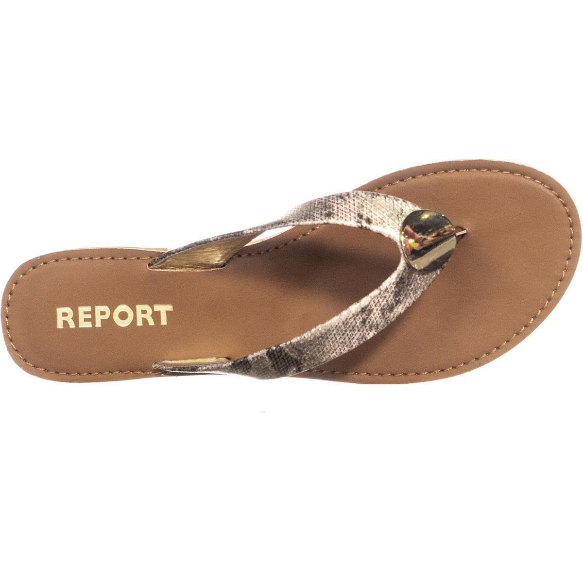44a9fe3b9b2b Report - Multicolor Sheilds Flat Thong Flip Flops