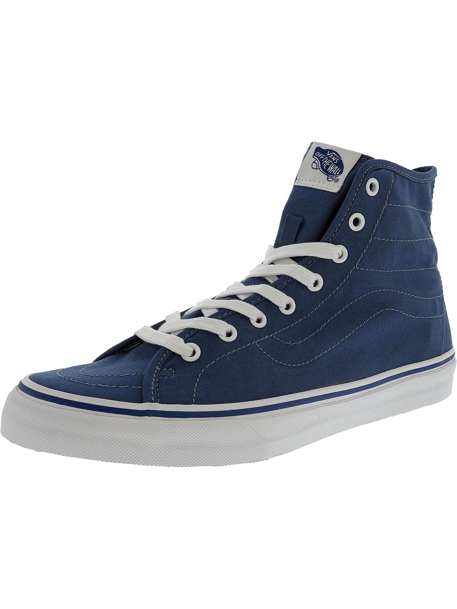 abb407a812c995 Lyst - Vans Sk8-hi Decon Canvas Ankle-high Fashion Sneaker in Blue