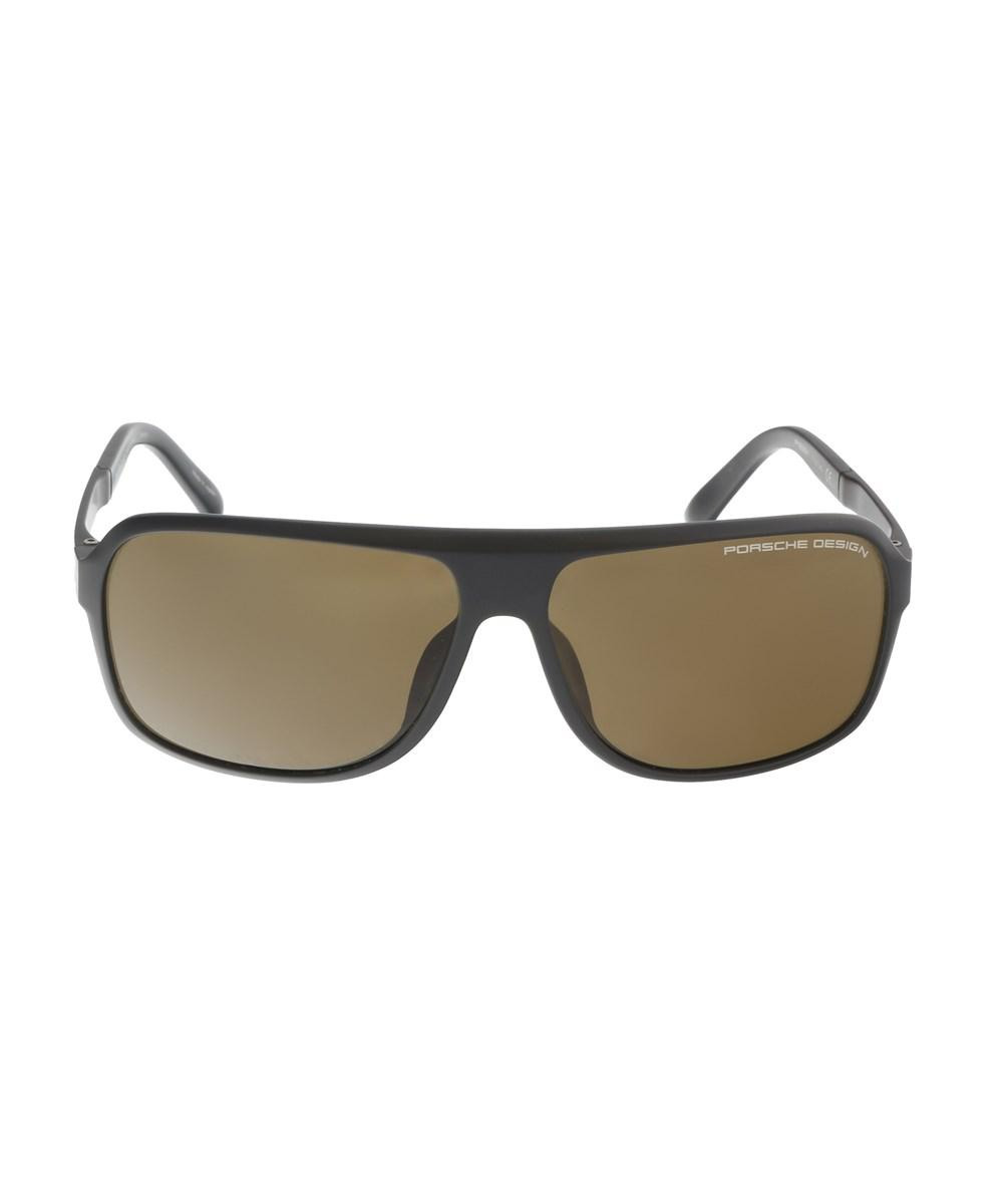 31b423363237 Porsche Design - P8554-d Dark Brown Aviator Sunglasses for Men - Lyst. View  fullscreen