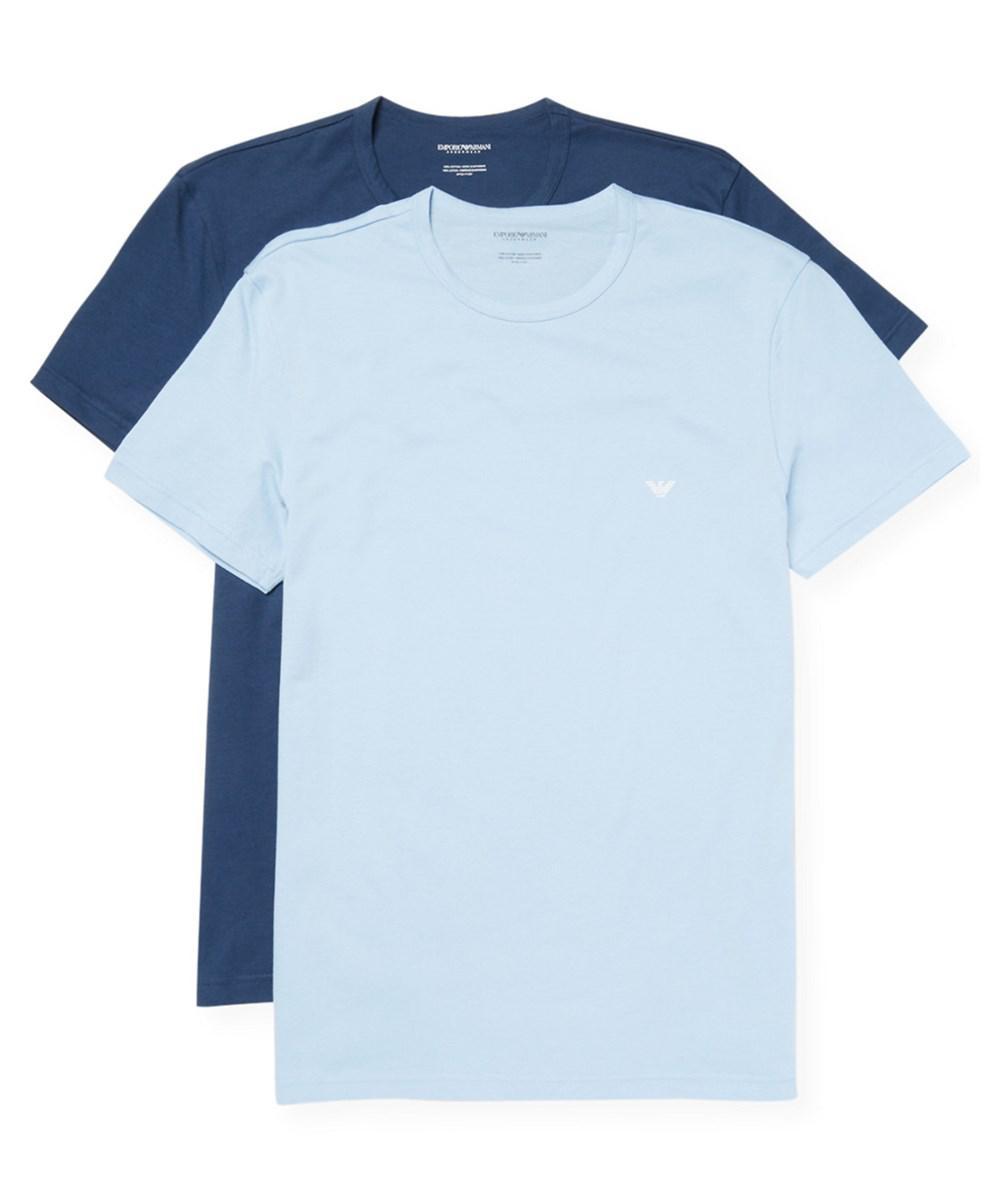 2pk For Men Regular In Emporio Shirt Blue Fit Underwear T Lyst Armani w4BHvWq1U