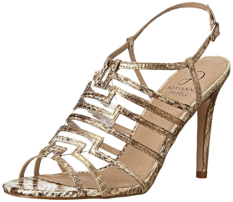 d89e1d88630 Lyst - Adrianna Papell Women s Emanuelle Dress Sandal in Metallic