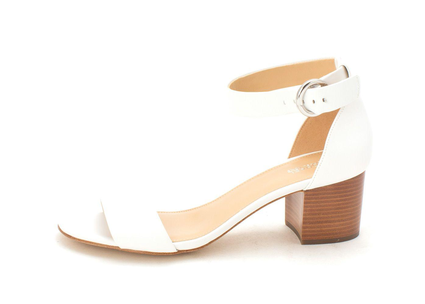 f9a776225b1 Lyst - Michael Michael Kors Womens Lena Leather Open Toe Special ...