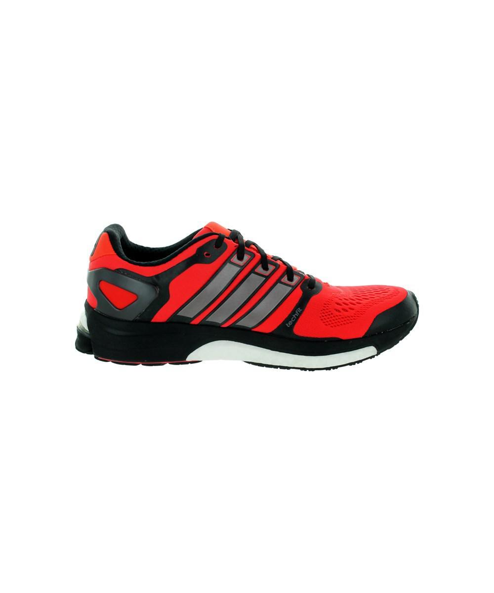 da4991fd6ea52 ... buy lyst adidas mens adistar boost m esm running shoe in red for men  476b5 edc9c