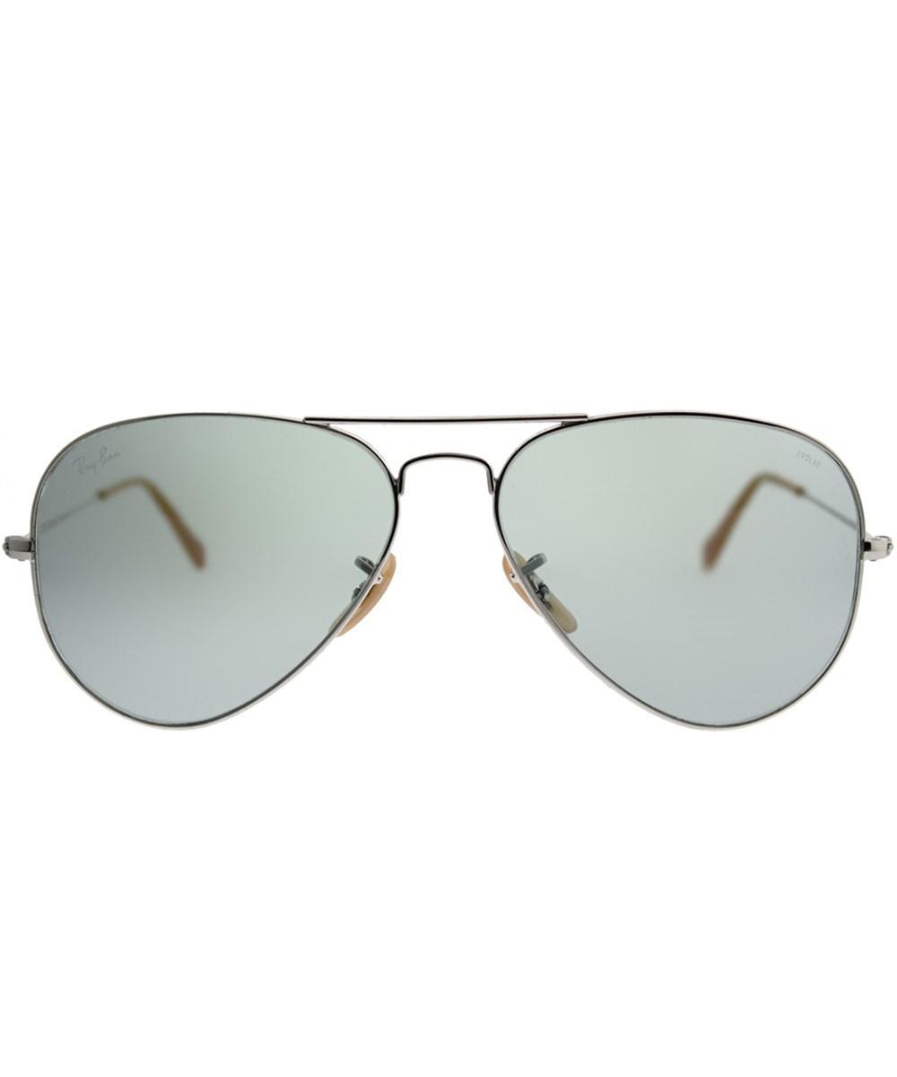 Lyst - Ray-Ban Classic Aviator Rb 3025 9065i5 58mm Silver Aviator Sunglasses  in Metallic 5e141dcc72f1