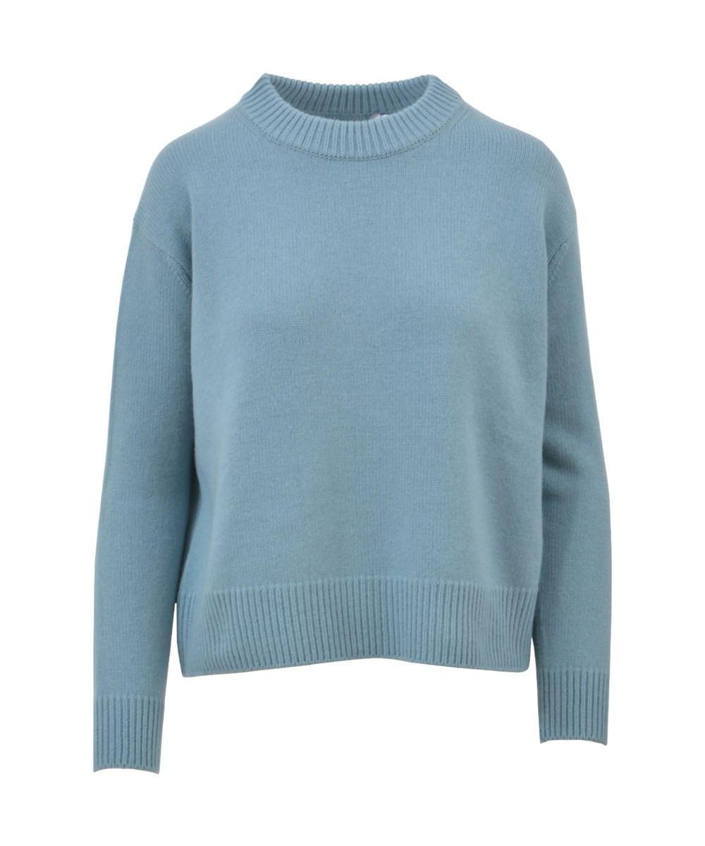 Vince Women's Light Blue Cashmere Sweater in Blue | Lyst