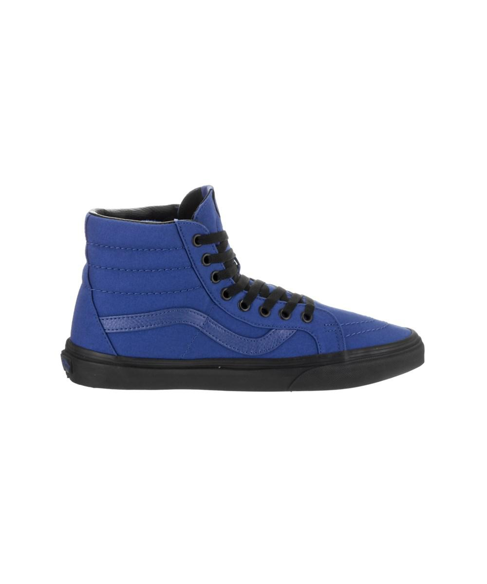 291cb66ea3a Lyst - Vans Unisex Sk8-hi Reissue (black Outsole) Skate Shoe in Blue for Men