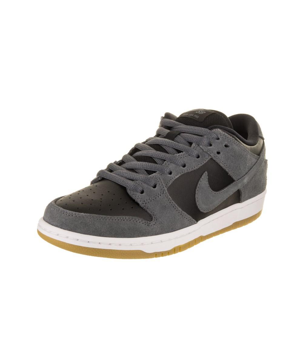 Nike. Gray Men's Sb Dunk Low Trd Skate Shoe