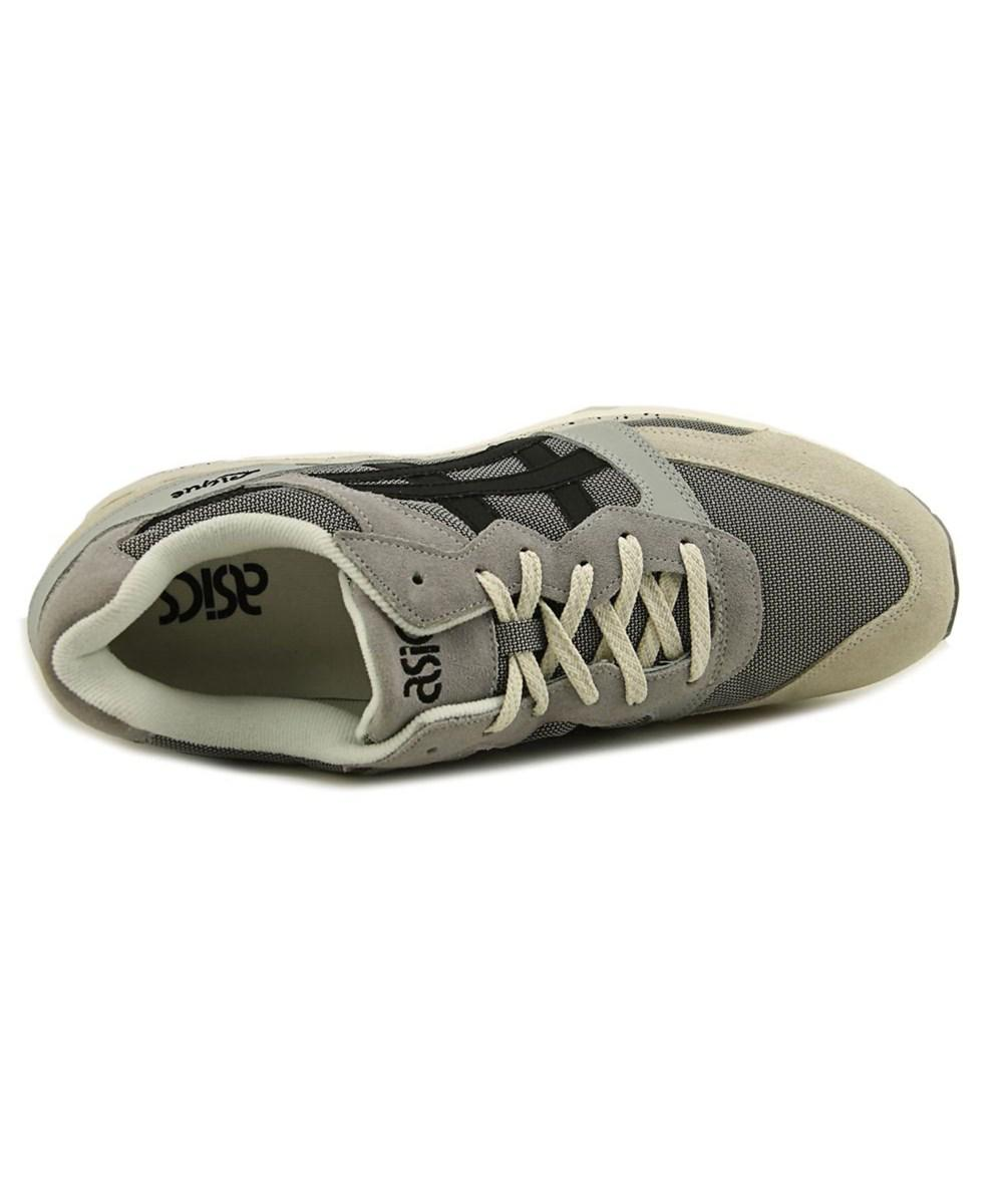 super popular bebcd f6a15 ... Asics Gel-lique Women Round Toe Canvas Gray Sneakers Lyst.