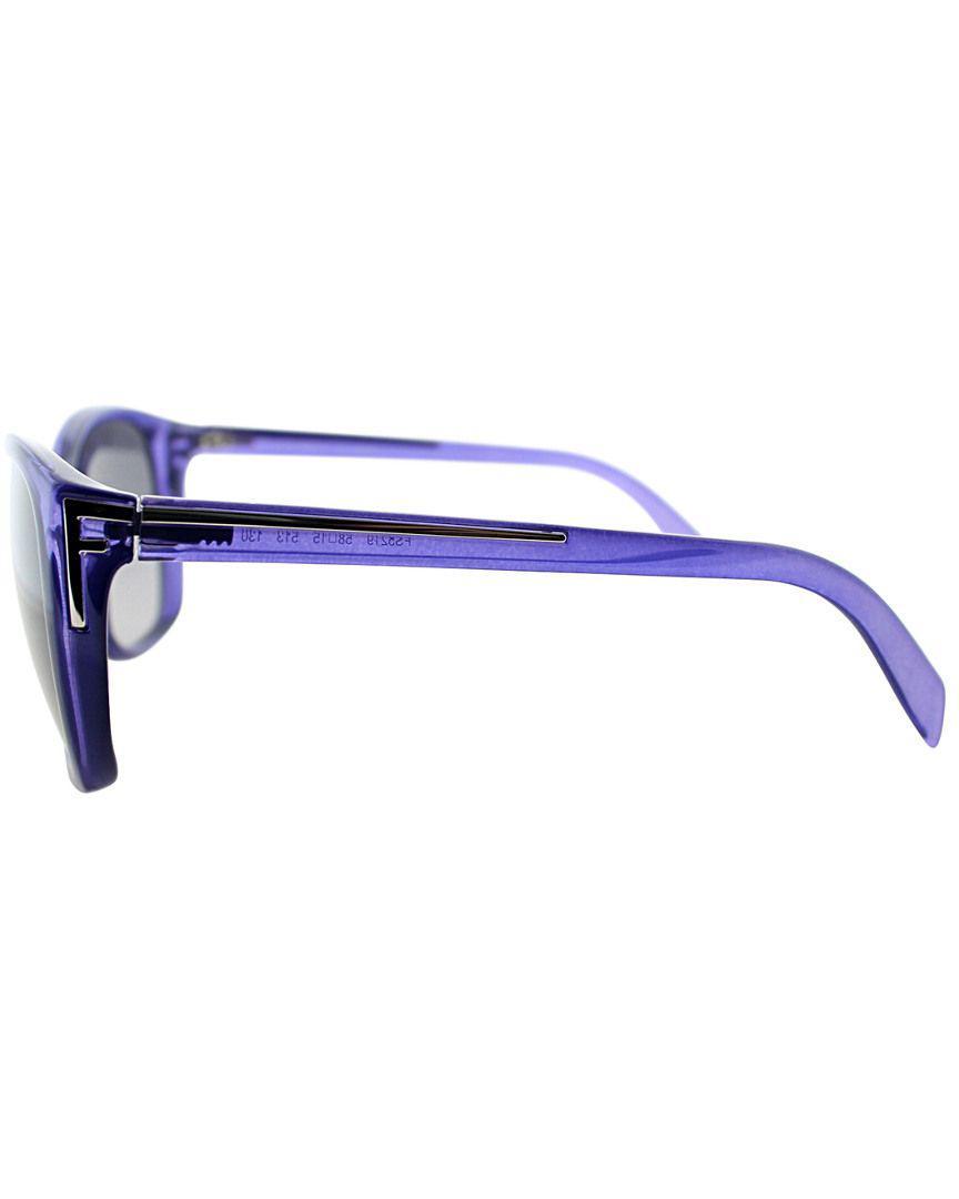 2239e4c281a0 Fendi - Blue Women s F5219 Sunglasses - Lyst. View fullscreen