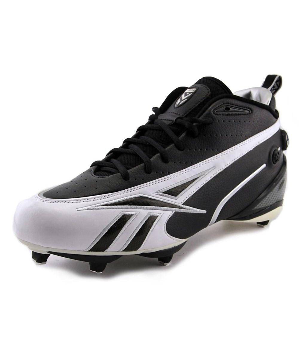 Lyst - Reebok V.young Electrify Round Toe Synthetic Cleats in Black ... 5d1efbc90