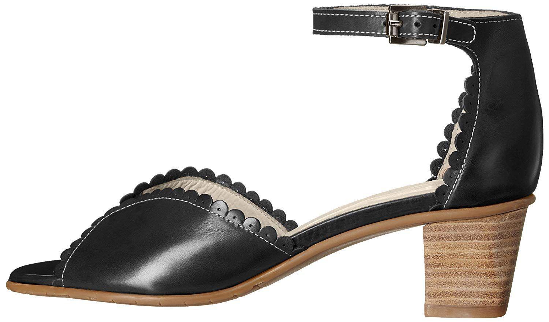 637a6a9ea4e2 Lyst - Fidji Womens V623 Open Toe Casual Slingback Sandals in Black