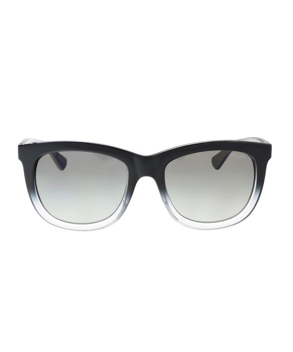 Ralph Lauren Ra5205 144811 Black Gradient Square Sunglasses in Black - Lyst 5589056f0999