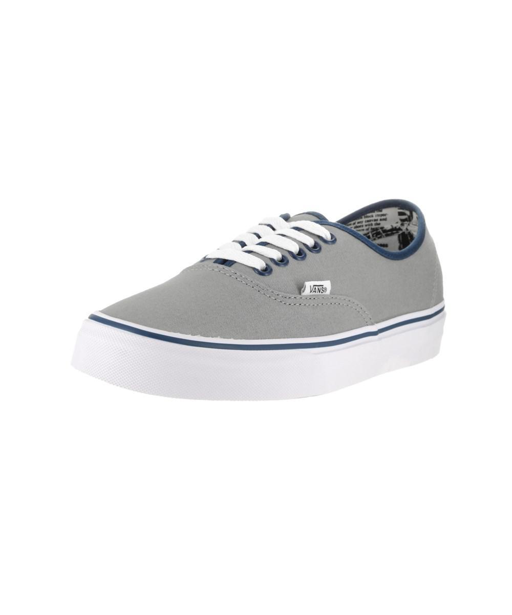 5ed7720a21 Lyst - Vans Unisex Authentic (binding Pop) Skate Shoe in Gray for Men