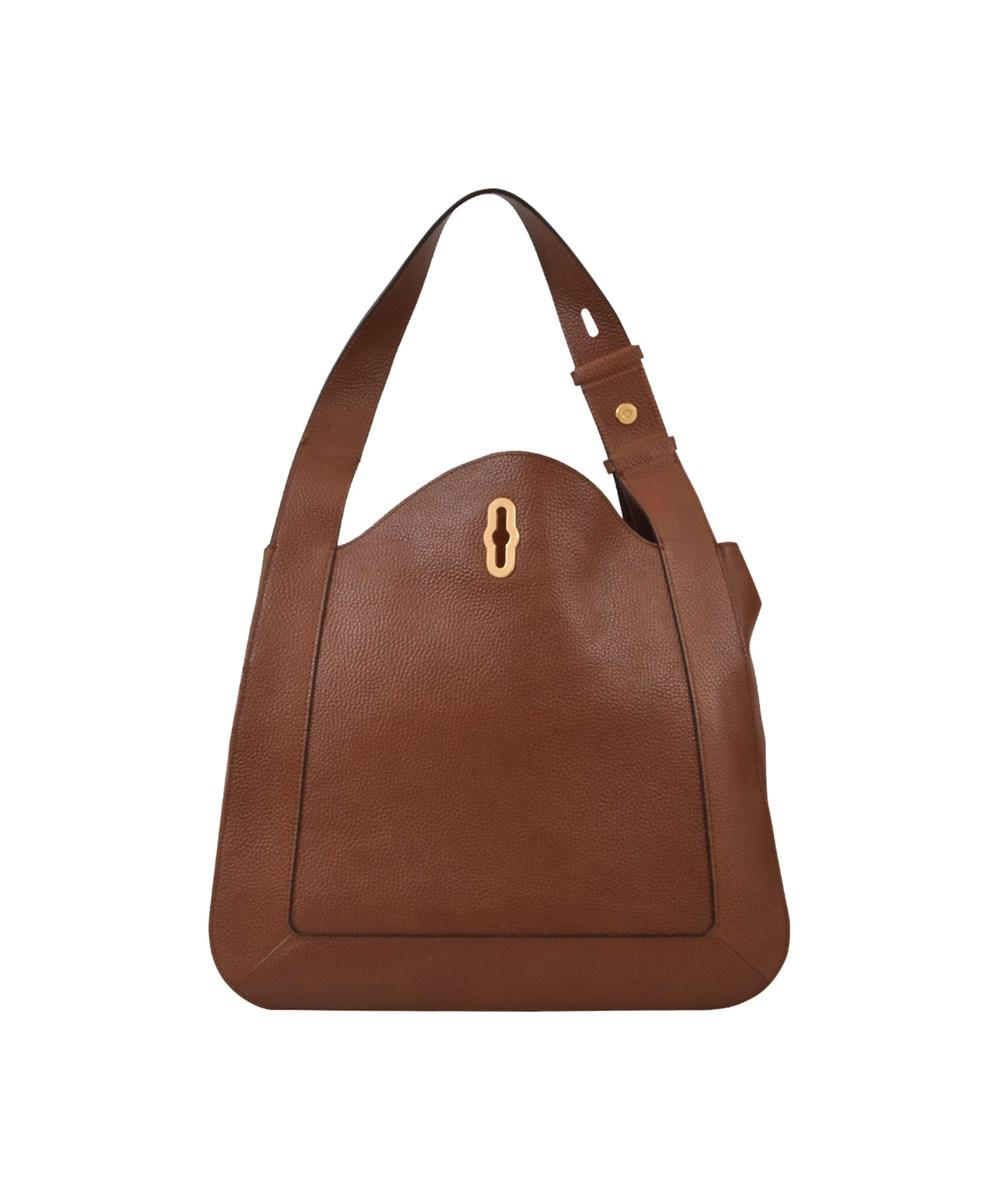 493254164c ... where can i buy lyst mulberry womens brown leather shoulder bag in  brown 5de98 207b5