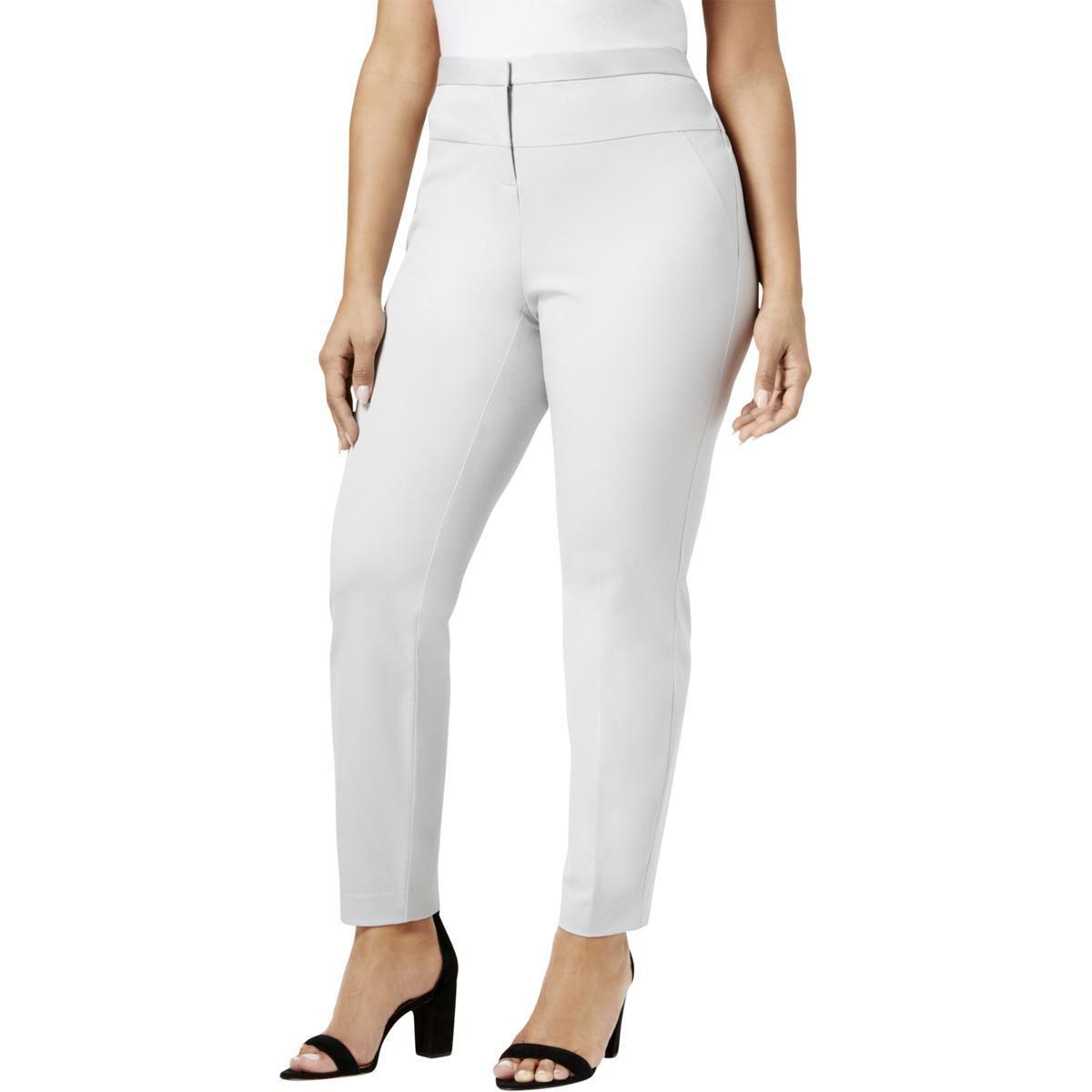 f182830569650 Lyst - Alfani Womens Plus Comfort Waist Seamed Skinny Pants in Gray