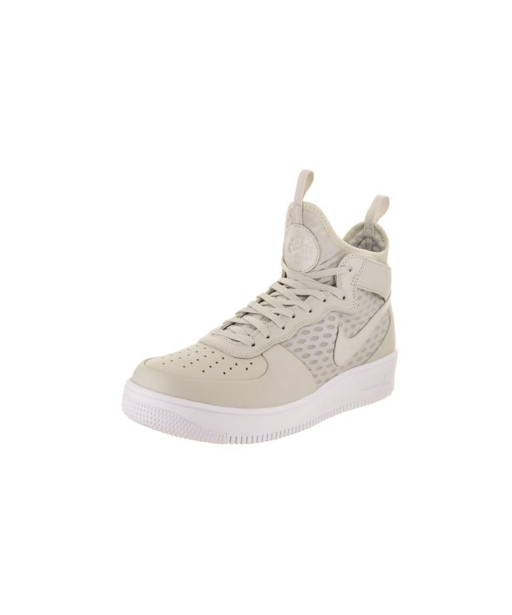 Lyst - Nike Men s Air Force 1 Ultraforce Mid Basketball Shoe for Men 5ea689d73