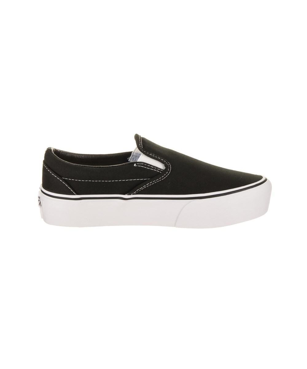 92740562edd2 Vans - Black Unisex Classic Slip-on Platform Skate Shoe - Lyst. View  fullscreen
