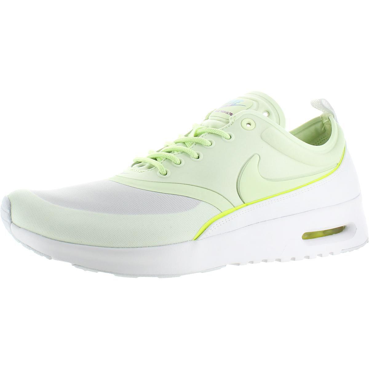 buy popular 56950 28d1b Nike - Green Womens Air Max Thea Ultra Mesh Perforated Running Shoes - Lyst.  View fullscreen