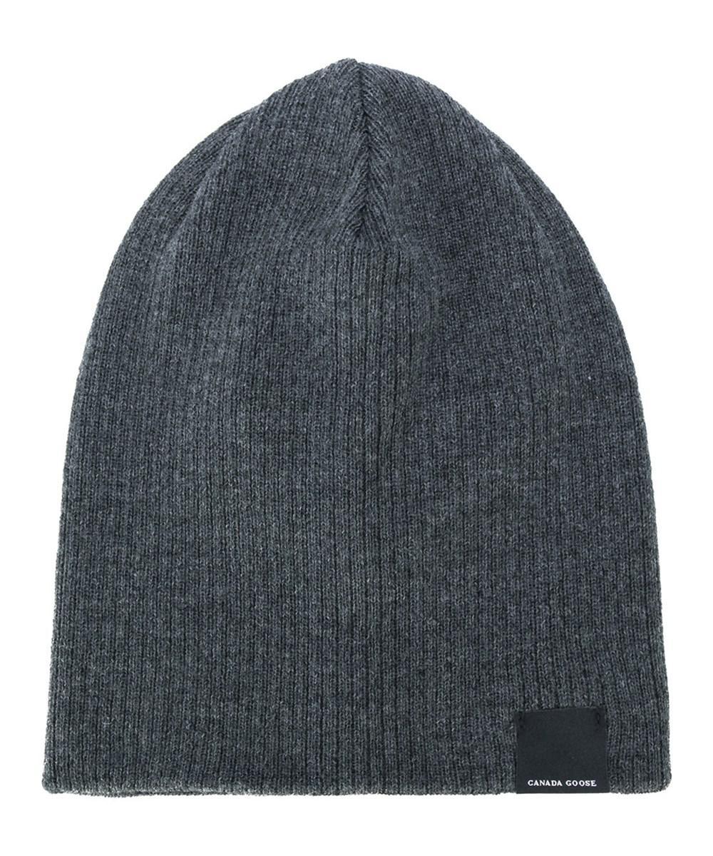e2ce5b54259 Canada Goose - Gray Men s Grey Wool Hat for Men - Lyst. View fullscreen