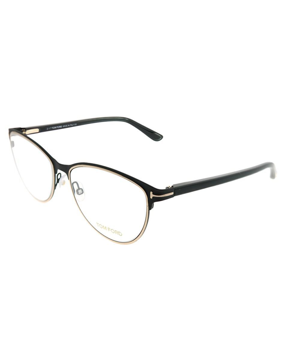f47c33facc Lyst - Tom Ford Ft 5420 005 Black Gold Cat-eye Eyeglasses in Black