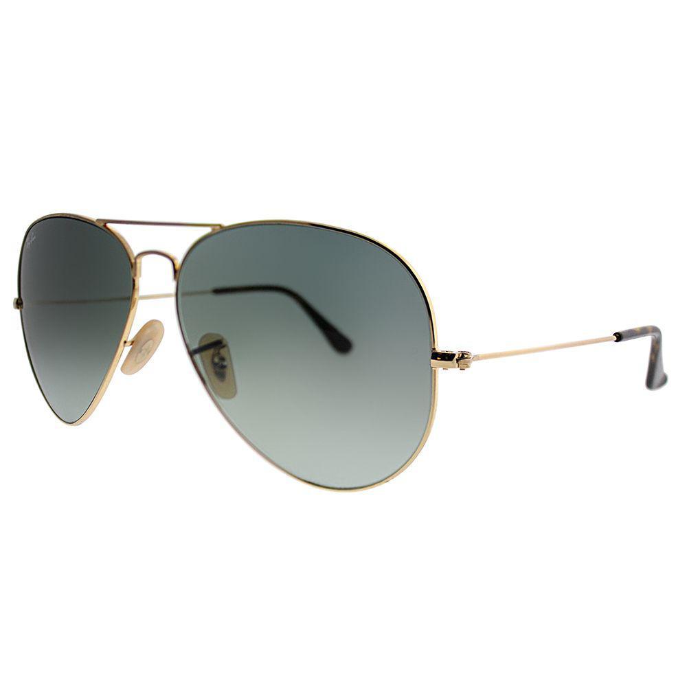 2175480ce921 Ray-Ban. Women s Metallic Classic Aviator Rb 3025 181 71 58mm Gold Havana  Collection Aviator Sunglasses