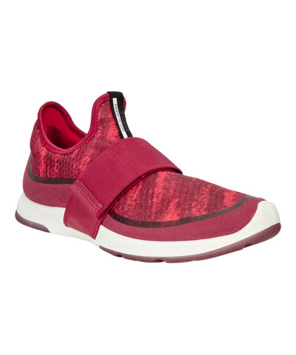 b3837974ca77 Lyst - Ecco Women s Biom Amrap Strap Sneaker in Brown