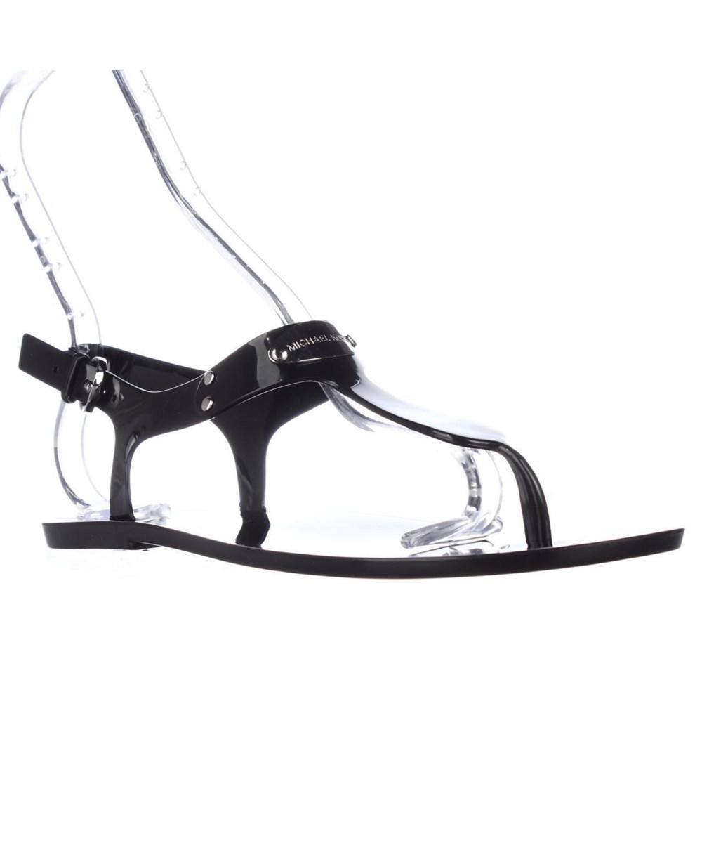 33f7be5ca1ff Michael Kors. Women s Mk Plate Jelly Thong Sandals