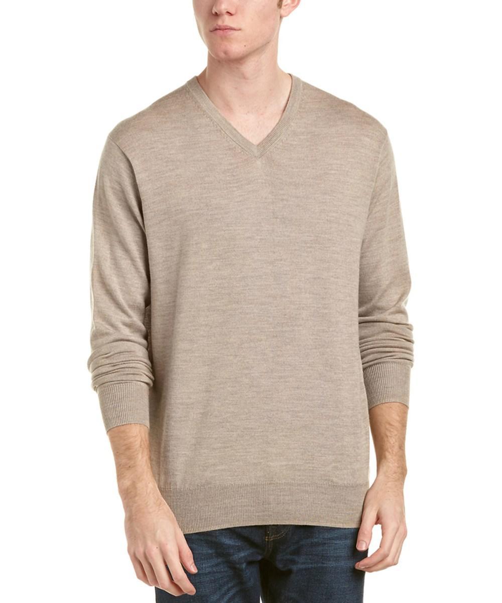 b683e5aae Lyst - Peter Millar Crown Soft Wool   Silk-blend Sweater in Brown ...